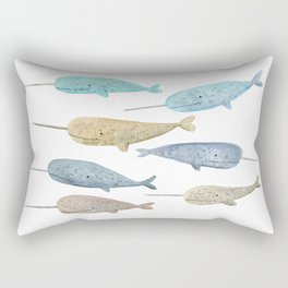 Choose your own adventure Rectangular Pillow