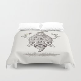 father nature Duvet Cover