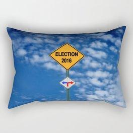 elections 2016 Rectangular Pillow