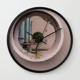 Pump House Porthole Wall Clock