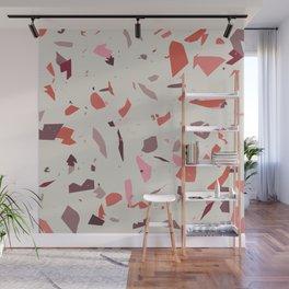 Rose Terrazzo - Light Wall Mural