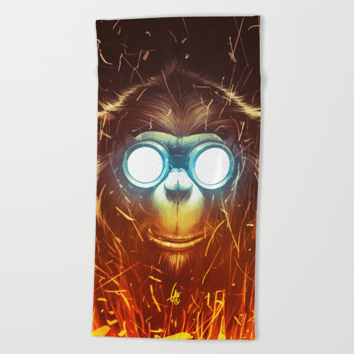 Monksmith II Beach Towel