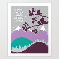 Stars Shine Art Print