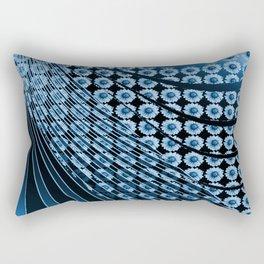 Phantasie in Blau 2 Rectangular Pillow