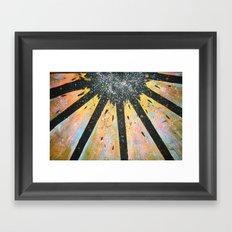Explode! Framed Art Print