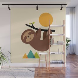Keep Calm And Live Slow Wall Mural