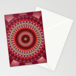 Creativity Mandala - מנדלה יצירתיות Stationery Cards