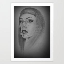 Devines zombies #4 Art Print