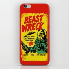 BEASTWRECK ATTACKS! iPhone & iPod Skin