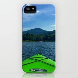 Vermont Kayaking iPhone Case