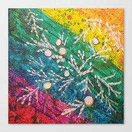Leaves on the World Tree: Brahui Juniper Canvas Print
