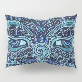 The Eyes of Buddha Pillow Sham