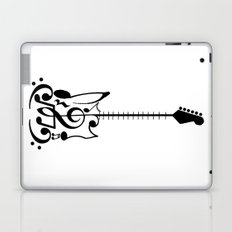 Guitar of Notes Laptop & iPad Skin