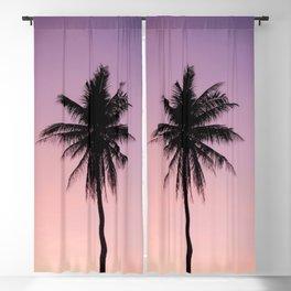 Summer Palms Blackout Curtain