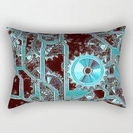 Steampunk,gears Rectangular Pillow