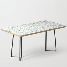Koala and Eucalyptus Pattern Coffee Table
