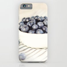 Scalloped Cup Full of Blueberries - Kitchen Decor Slim Case iPhone 6s