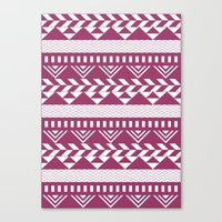 bands Canvas Prints featuring Tribal Bands by stephaniemichalko