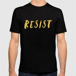 RESIST 6.0 - Freedom Gold on Navy #resistance T-shirt