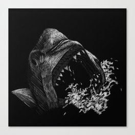 Great White 1 Canvas Print