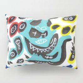 Sweet Little Monsters Pattern for Kids Pillow Sham
