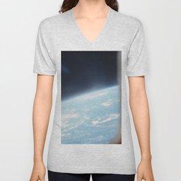 Earth from the sky 2 Unisex V-Neck