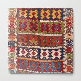 Mut Taurus Anatolian Kilim Print Metal Print