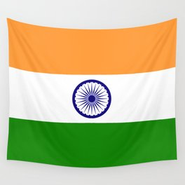 Flag of India - High quality authentic HD version Wall Tapestry