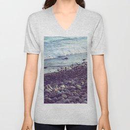 sea coast Unisex V-Neck