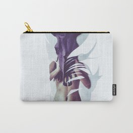 soft feather Carry-All Pouch
