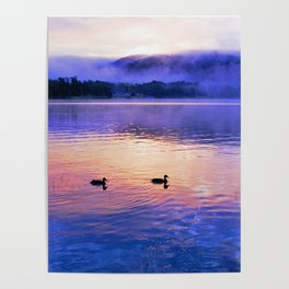 Morning Meditation (Sunrise) Poster