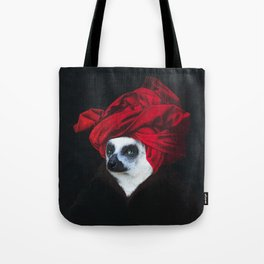 Portrait of a Madagascar Bear Tote Bag