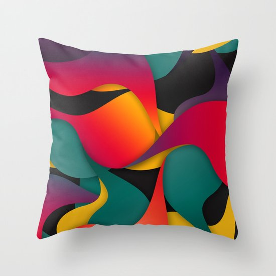 Sorry Throw Pillow