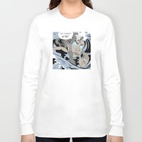 lichtenstein Long Sleeve T-shirts featuring Lichtenstein-style Korra by Steph Arts