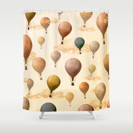 Voyagers Pattern Shower Curtain