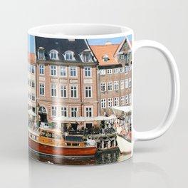Boats Along Nyhavn Coffee Mug