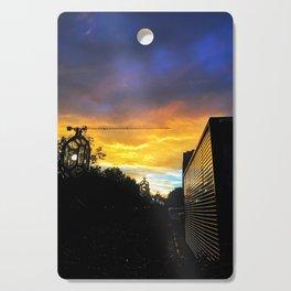 DC Sunset Cutting Board