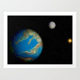 Earth 3.0 Art Print