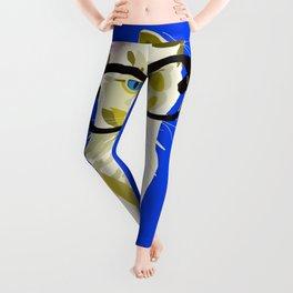 Blue Ribbons Leggings