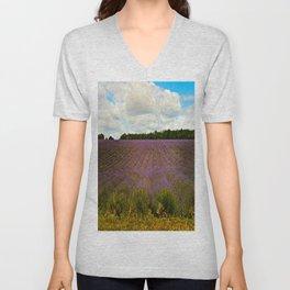Cotswold Lavender Unisex V-Neck
