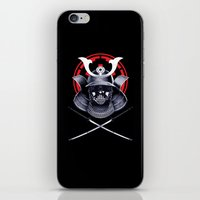 darth iPhone & iPod Skins featuring Darth Samurai by Steven Toang