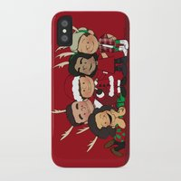 liam payne iPhone & iPod Cases featuring It's Christmas, Liam Payne by Ashley R. Guillory