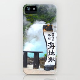 Japanese Hot Springs iPhone Case