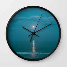 Tamarack Beach Wall Clock