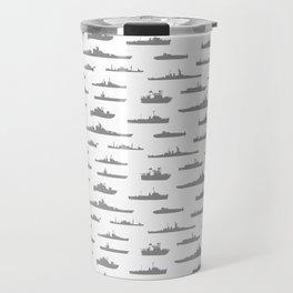 Battleship // Grey Travel Mug