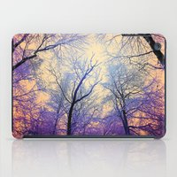 bebop iPad Cases featuring Snow Angel's View - Nature's Painting (color 2) by soaring anchor designs