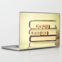 anaconda Laptop & iPad Skins featuring Read Books by Olivia Joy StClaire