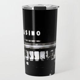 Black & White-Casino Travel Mug