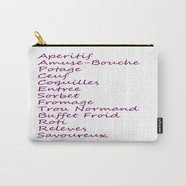 Hannibal Season 1 Episode List Carry-All Pouch
