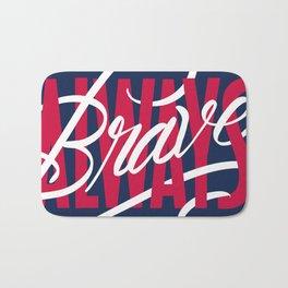 Always Brave Bath Mat